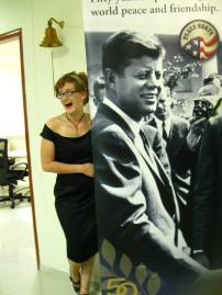 me and JFK - buds