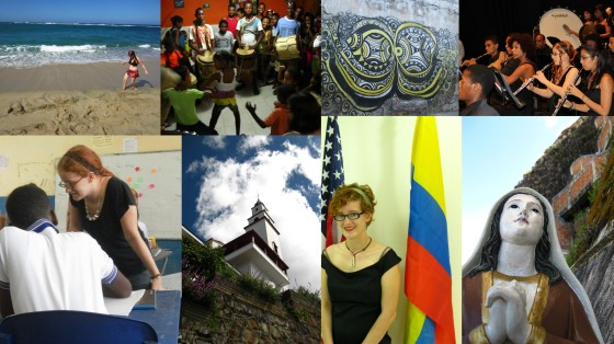 Time spent in Colombia